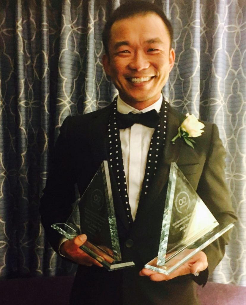 Mark received the 2016 OCA Asian American Corporate Achievement Award and the 2016 Community Service Award.